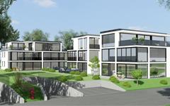 Neubau-Attikawohnung mit Terrasse